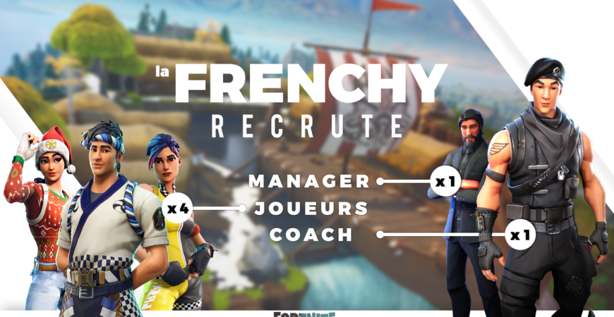 Recrutement Fortnite